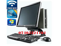 Dell OptiPlex All-in-One Duo CORE 2.3GHz PC windows7 2gb RAM 80GB HARDDRIVE WINDOWS 7