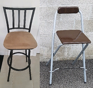 •• 2  SETS OF BAR STOOLS FOR SALE ••