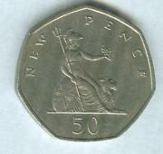 1969 50 New Pence