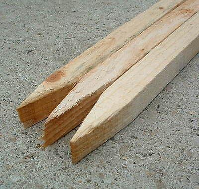 Wooden Stakes Fencing Ebay