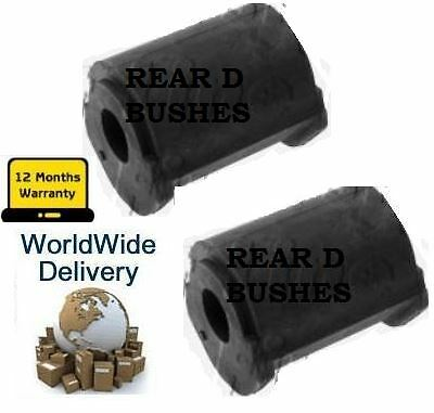 FOR LEXUS IS200 IS220 IS250C IS250 05> REAR ANTI ROLL SWAY BAR RUBBER D BUSH KIT