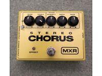MXR Stereo Chorus Guitar Pedal