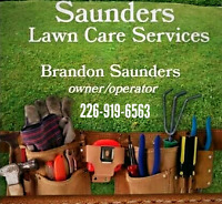 Saunders lawn care services