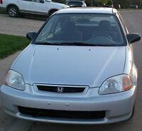 1996 Honda Civic CX-G Coupe (2 door)