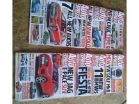 17 copies of Auto Express from 2016/17 & extras