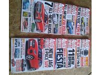 Auto Express Magazine 10 copies Jun-Aug 2017 + NEW G3 Colour restorer & Scratch remover