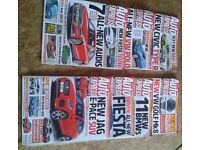 17 copies of Auto Express from 2016/17 & extras - selling other items