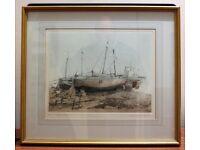 Three Trawlers by Michael Chaplin RE, 1985.