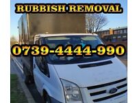 0739-4444-990 Rubbish Removal house garage clearance waste removal rubbish collection