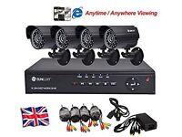 Brand-new SUNLUXY® Security Camera CCTV Video Surveillance System