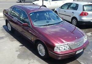 2000 Ford Fairlane Ghia, low km's, full history, immaculate car! Northcote Darebin Area Preview