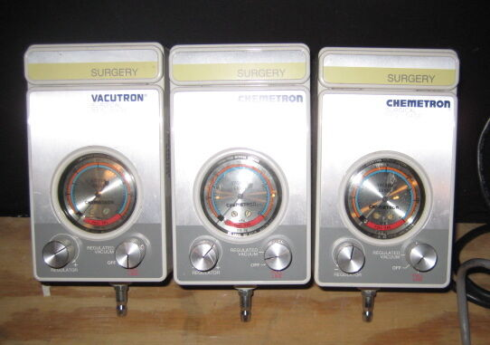Allied Healthcare Products Chemetron variable suction regulators