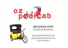 OZ PEDICAB & DELIVERY