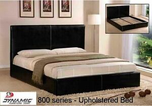 Brand New Faux Leather Bed [Upholstered]