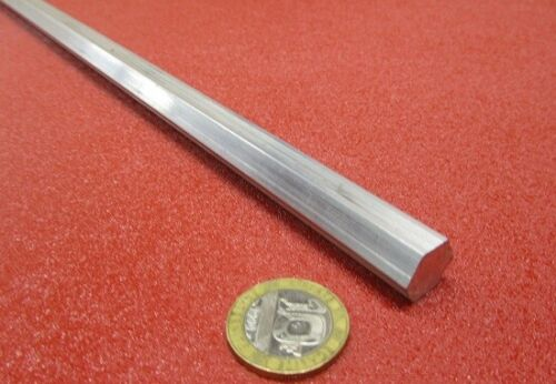 "2024 Aluminum Hex Rod 1/2"" Hex x 6 Ft Length"