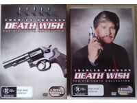 Death Wish: The Vigilante Collection, all 5 films UNCUT! VERY RARE! Like new!