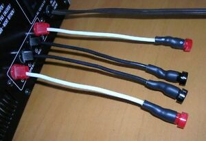 Power amp/speaker Banana Jack adapters, 14 AWG(OFC). New West Island Greater Montréal image 5