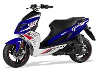 *SCOOTER* 2017 Plate Rieju RS Sport LC. Warranty. Free Delivery. Main Dealer.