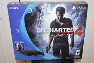 PS4-PlayStation 4 500 GB Uncharted 4: A Thief's End Bundle