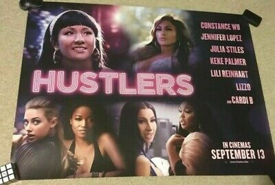 """Hustlers Movie Poster 24/"""" x 36/"""" or  27/""""x 40/"""""""