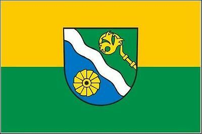 Aufkleber Landkreis Waldshut Flagge Fahne 8 x 5 cm Autoaufkleber Sticker - Flagge Hut