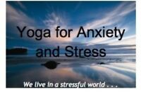 Yoga classes for Stress & Anxiety