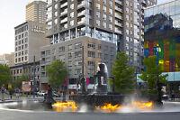 Appartements a louer a Montreal au centre ville!