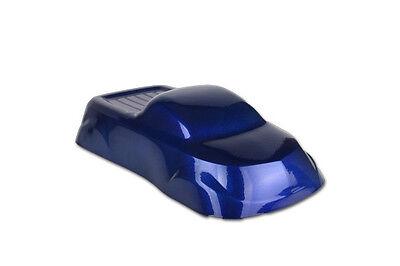 Powder Coating Paint Sparkle Electric Blue Dormant 1lb .45kg - Must Clear Coat