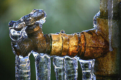 Don't risk frozen pipes this winter!