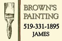 Brown's painting and renovations