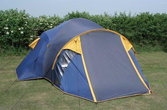 Peakland Tourer 4-6 berth tent with 2 bedrooms porch and living area : peakland tents - memphite.com
