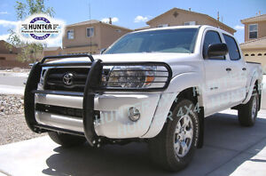 Details about 2005-2014 Toyota Tacoma Brush Grill Guard Black 06 07 08 ...