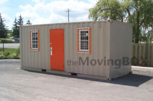 The Moving Box Shipping Containers