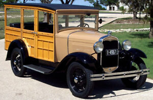 "1931 Ford Station Wagon Model ""A"""