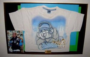 CHARITY-AUCTION-Hip-Hop-BRAINPOWER-MTV-Award-SHIRT-Signed-CDs-COA-UACC