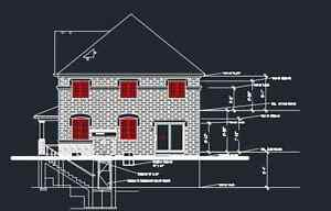 Building Permit and Zoning - Legal Basement - Drawings / Plan Oakville / Halton Region Toronto (GTA) image 1