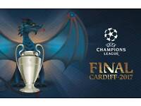 CHAMPIONS LEAGUE FINAL 1 OR 2 ROOMS FOR RENT