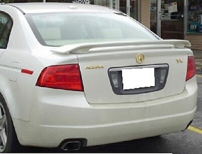 FITS ACURA TL 2004-2008 UNPAINTED REAR BOLT-ON 2-POST TRUNK SPOILER