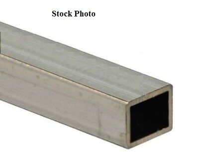 1.25 X 1.25 X 38 X .125 Wall 316l Stainless Steel Square Tube 1 X 1 Id