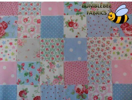 Patchwork Quilt Fabric | eBay : pink patchwork quilts - Adamdwight.com