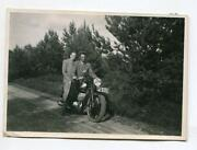 Vintage Motorcycle Photo