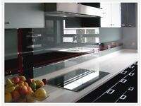 Glass Splashbacks - Made to measure - Any colour & lots of bespoke finishes available