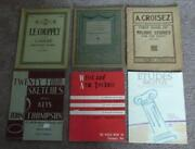 Piano Sheet Music Lot