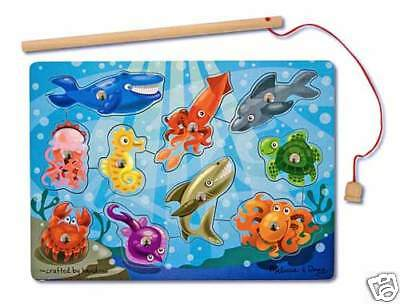 Magnetic FISHING GAME #  3778 ~ Melissa & and Doug ~ ages 3+
