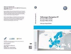 VW Volkswagen Skoda RNS 510 & 810 EU West V.14 8477 2017 DVD
