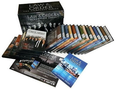Law And Order  The Complete Series Dvd 104 Disc Set  2011  Seasons 1 20 New
