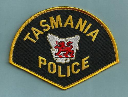 TASMANIA AUSTRALIA POLICE SHOULDER PATCH