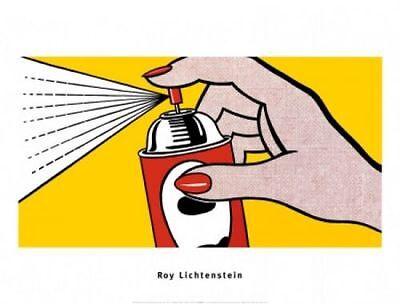 Spray, 1952 by Roy Lichtenstein Art Print Can Pop Poster 31.5x23.5