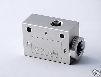 1pc Pneumatic Quick Exhaust Valve 12 Npt Ports Aluminum Mettleair Qe-n04