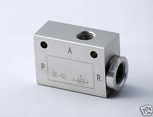 1pc Pneumatic Quick Exhaust Valve 1/8